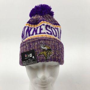 Minnesota Vikings NFL new era knit beanie adult